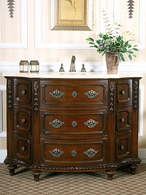 Sink Chest in Deep Mahogany - W5295-11