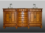 Sink Chest in Medium Brown - P5408-03A-3