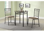 Slater 3-Piece Faux Marble Top Table Set - 130041