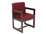 Sled Base with Arms Chair - ROF-B61715-MWBY