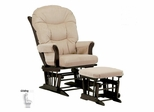 Sleigh Glider and Ottoman Combo - Dutailier - C00-61A
