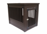 Small Size Habitat 'n Home Mission Pet Crate in Espresso - NewAgeGarden - EHHC102S
