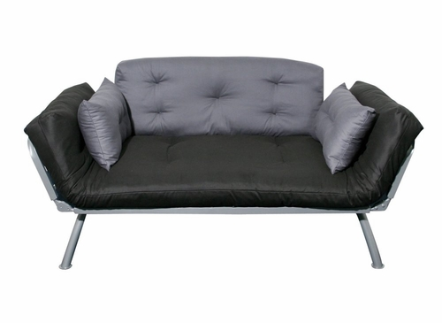 Sofa / Lounger with Coal/Pewter Cover - Mali Collection - 55-6118-CP