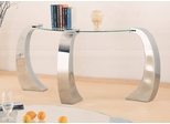 Sofa Table in Chrome Plated / Glass - Coaster