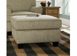 Sofab Angel Chenille Fabric Ottoman - 1080S