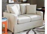 Sofab Lily Loveseat in Ivory - 1277M