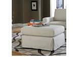 Sofab Lily Ottoman in Ivory - 1077S