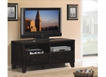 Soho Media Console in Espresso on Ash - Classic Flame - TC48-017-E450