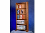 Solid Oak 200 DVD Multimedia Cabinet - 507