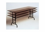 """Solid Plywood Adjustable Folding Table 30"""" x 60"""" - Correll Office Furniture - PCA3060P"""