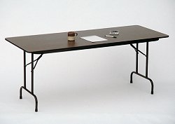 """Solid Plywood Folding Table 24"""" x 72"""" - Correll Office Furniture - PC2472P"""