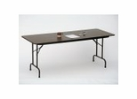 """Solid Plywood Folding Table 24"""" x 96"""" - Correll Office Furniture - PC2496P"""