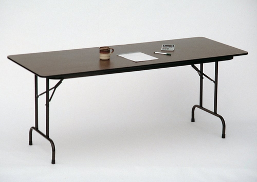 Solid Plywood Folding Table 36