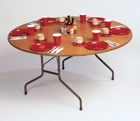 Solid Plywood Folding Table 60