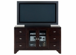"""Sonoma Merlot 52"""" TV Stand with 6 Drawers - 044-9"""