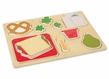 Sorting Food Tray - Lunch - Guidecraft - G461