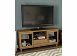 "South Shore Adrian 60"" TV Stand in Harvest Maple - 4926662"