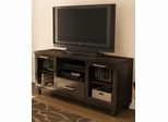 "South Shore Adrian 60"" TV Stand - Matte Brown Finish - 4909662"
