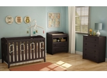 South Shore Angel 3PC Crib Set with Changing Table and Chest - 3559331
