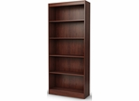 South Shore Axess Bookcase with 5 Shelves in Royal Cherry - 7246768C