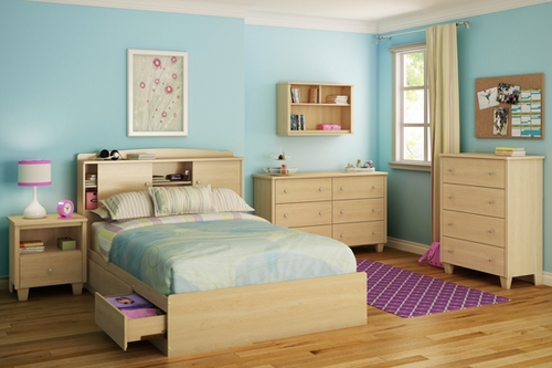 South Shore Clever Room 6 Piece Full Mates Bedroom Set - 2713211