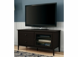 "South Shore Crescendo Transitional 49"" TV Stand in Chocolate - 4759677"