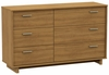 South Shore Flynn 6 Drawer Dresser in Harvest Maple - 3226027