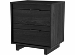 South Shore Flynn Contemporary Gray Oak Nightstand - 3237060