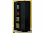 South Shore Morgan Storage Cabinet with Doors - 7270971