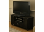 "South Shore Noble 48"" Traditional TV Stand in Ebony - 4387662"