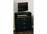 South Shore Step One Media Chest in Black - 3107023