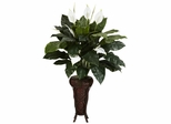 Spathyfillium with Stand Silk Plant - Nearly Natural - 6656