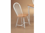 Spindle Back Chair (Set of 4) in Natural / White - Coaster