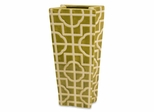Square Lattice Tall Container - IMAX - 35231