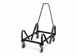 Stack Chair Cart - Steel/Black - HON4043T