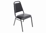 Stacking Chair - Restaurant Stacker - 8029BK