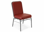 Stacking Chair - Vinyl ComfortClass Stack Chair - OFM - 300-SV-VAM