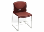 Stacking Chair - Vinyl Seat and Back Stack Chair (Set of 4) - OFM - 320-VAM-SET