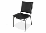 Stacking Chairs - Black - LLR62502