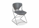 Stacking Chairs - Gray - HONFLEX0116