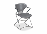 Stacking Chairs - Gray - HONFLEX0216