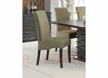 Stanton Dining Chair (Set of 2) in Green - Coaster - 102063-SET
