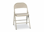 Steel Folding Chair - Beige - HONFC01LBG