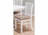 Stephie Side Chair in Aspen White - Set of 2 - 625-323KD