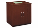 """Storage Cabinet 30"""" - Series C Mahogany Collection - Bush Office Furniture - WC36796A"""
