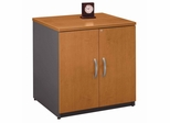 """Storage Cabinet 30"""" - Series C Natural Cherry Collection - Bush Office Furniture - WC72496A"""