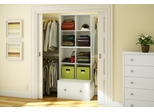 Storage Furniture Set 2 in Pure White - Stor it - South Shore Furniture - 5050-SET-2