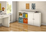 Storage Furniture Set 3 in Pure White - Stor it - South Shore Furniture - 5050-SET-3