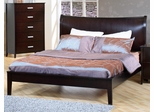 Stuart Queen Platform Bed in Cappuccino - 200300Q