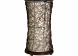 Stylecraft Natural Wood Rattan Table Lamp